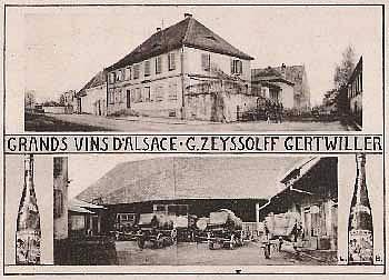 Maison Zeyssolff, Alsace, Gertwiller